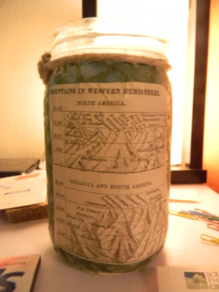 Every studio needs a bad ass candle like this Mountains of the Western Hemisphere candle