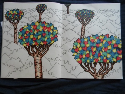 card trees