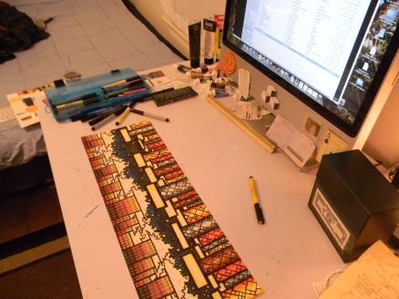 Coool desk shot of Pipes 2