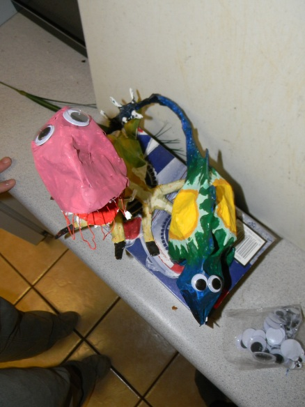 Making paper mache dinosaurs with a person really teaches you about the core of their character