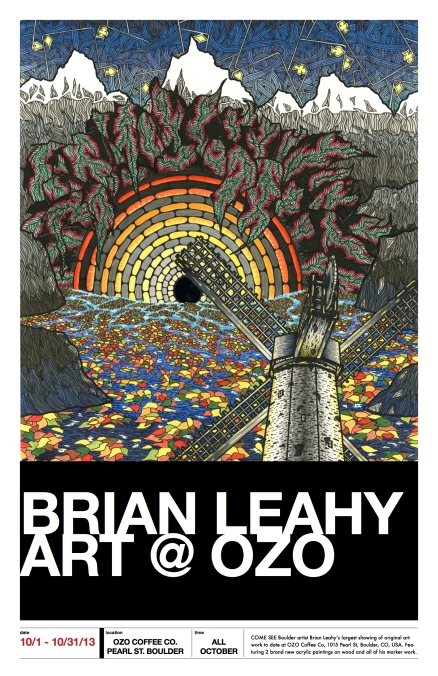 brian leahy at ozo poster - chinacat