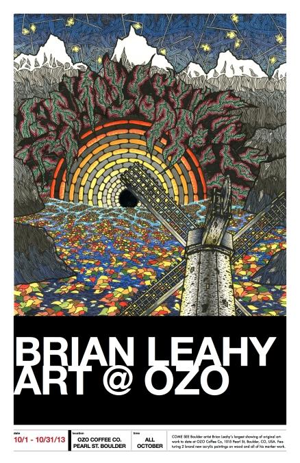 brian leahy at ozo poster - chinacat