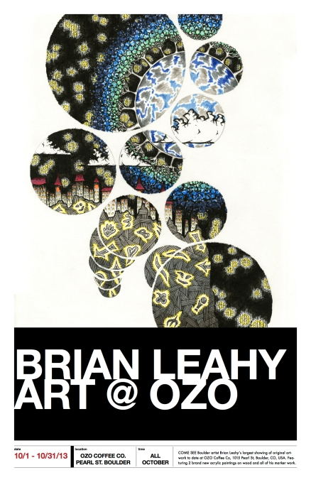 brian leahy at ozo poster - focus