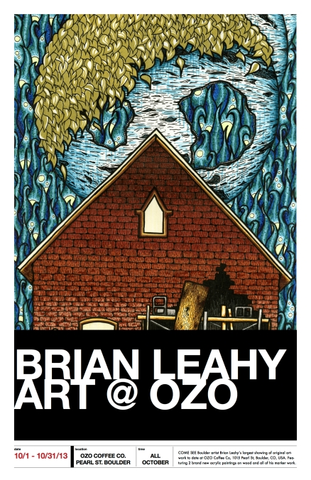 brian leahy at ozo poster - got everything
