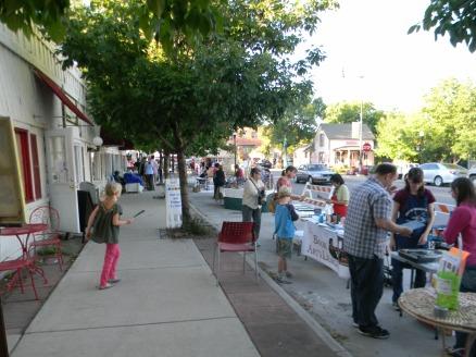 street booths