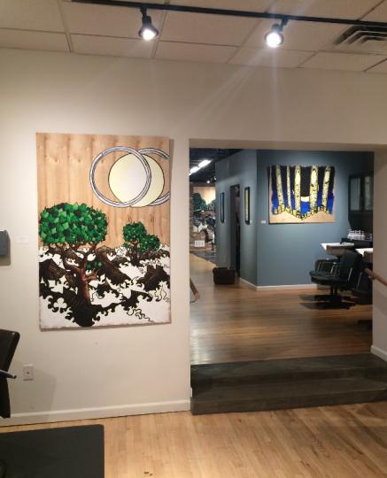 Three Paintings, One Photo